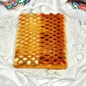 Пирог с фрукт-твор нач